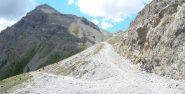 La strada prima di Roccia Tagliata