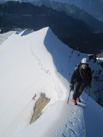Grand Combin Traversata italiana delle 4 cime 2011-07-31