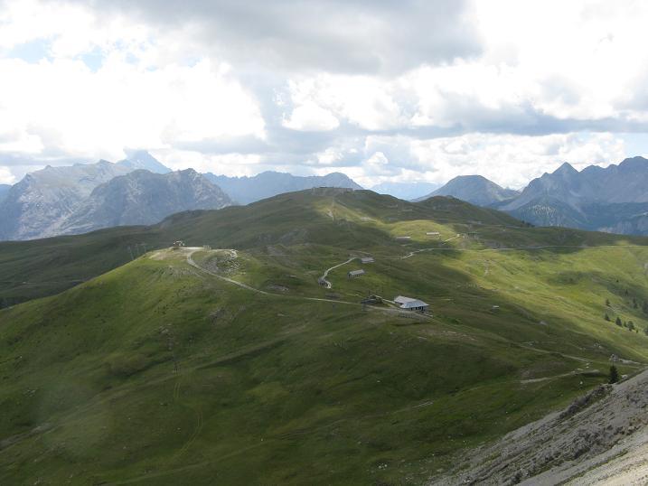 panorama sul Gondrand
