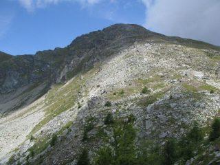 Mont Mary dal versante di discesa