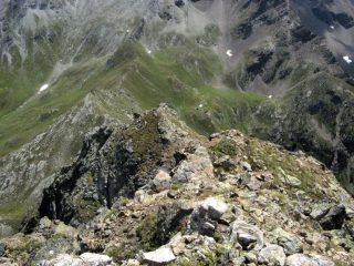 Cresta SE della Becca Morion