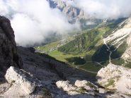 Val Badia dalla forcella