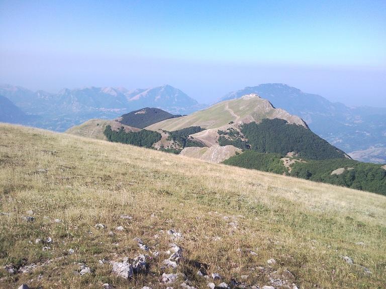 Sirino (Monte) e Monte Papa da Lagonegro 2011-08-02