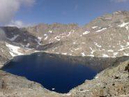il più grande lago naturale del Gran Paradiso (lago gelato)