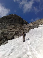 ultimi passi nella neve