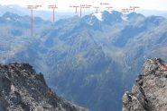Il Mt Freduaz visto dal Mt Colmet