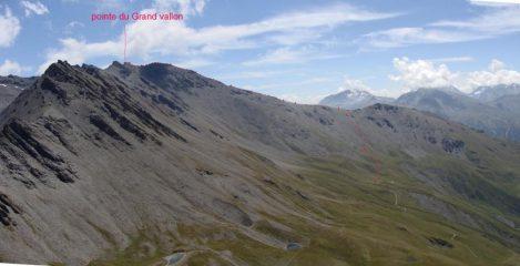 crete de la >Turra e pointe du grand Vallon