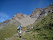 Salendo verso il Col du Lou