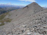 10 - Cima Pelvo vista dai ghiaioni sottostanti la Serpentiera