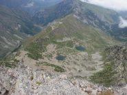 laghi Frisson dalla cima