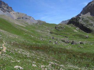 Risalita verso i laghi dell'Oronaye