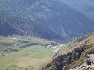 Il rif. Selleries dalla cima sud