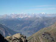 Uno sguardo sulla Val Chisone dalla cima sud