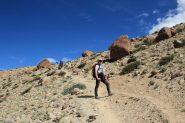 Stelvio in salita, a quota 4830 m. (11-8-2011)