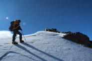 ultimi metri prima della cima..! (12-8-2011)
