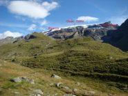 ghiacciaio Tzere bivacco citta Mariano Gran Lago