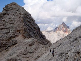 Croda Rossa tra Col Pistone e Vecio del Forame
