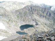 lac gelè e lac lusiere dalla cima