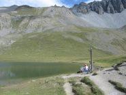 Il lago Souliers