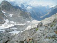 ghiacciaio clapier-parte bassa