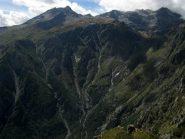 La testa della Val Clarea con il Niblè.