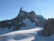 Il Dente del Gigante e la cresta di Rochefort