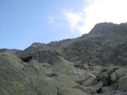 In alto Punta Lazin e Punta Boiretto
