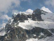 Dal Rif. Teodulo vista sui  Breithorn