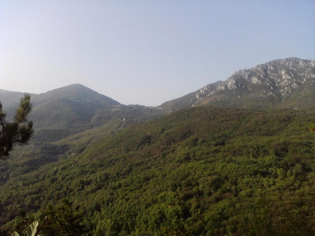 Scravaion (Colle) da Ceriale, giro per il Giogo di Toirano 2011-08-19
