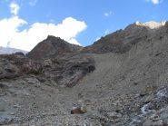 Sotto al Rifugio Aosta
