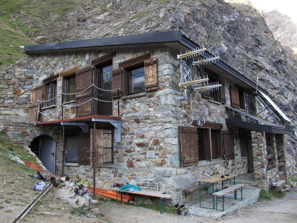 Il rifugio Aosta