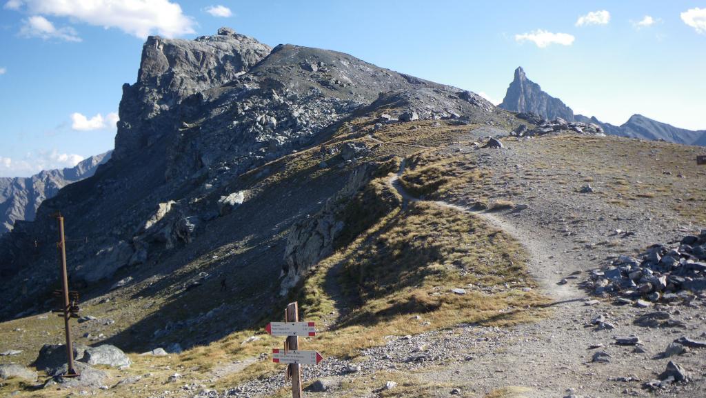 Roc de la Niera e Rocca Bianca dal Col di St.Veran