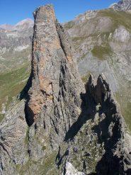 Sud della Torre e cresta della Figari