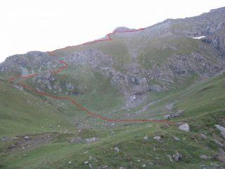 Percorso Alpe Balma-Colle della Rosa