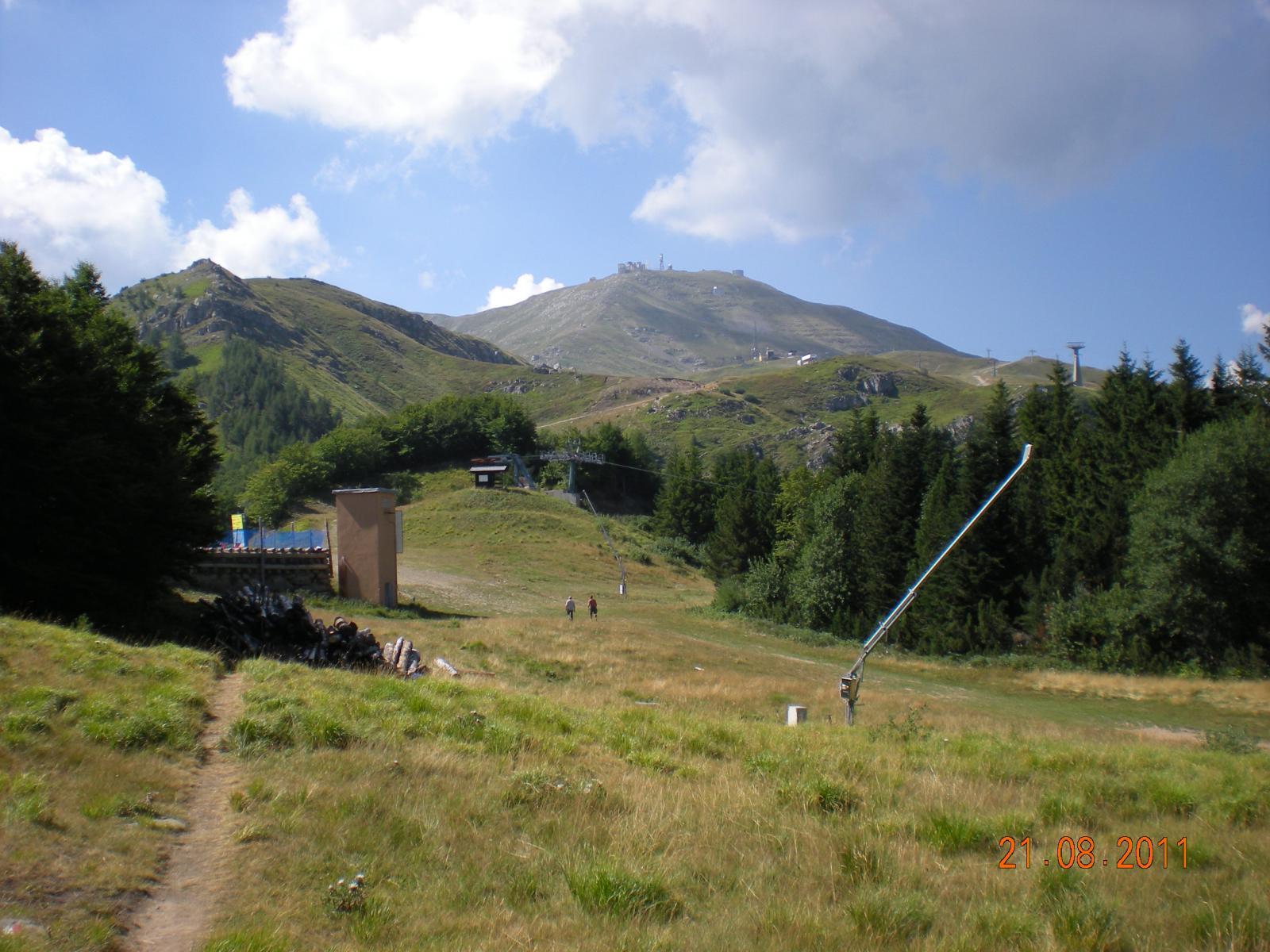 le piste di sci