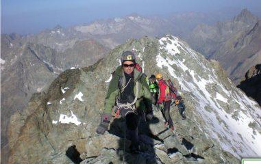 Stefano sulla cresta