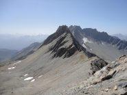 Cresta vista dall'Artanavaz