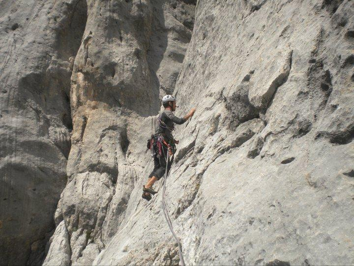 Marmolada - Punta di Rocca Via Vinatzer - Castiglioni 2011-08-21