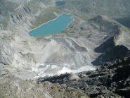 lago serrù dalla cima d'oin