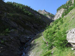 Attraversamento del torrente