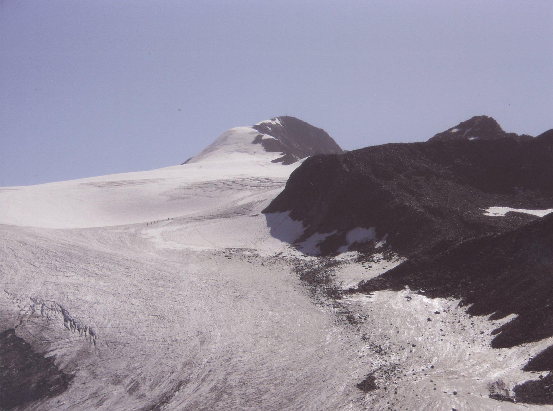 Similaun da Vernago per la Vedretta del Giogo Basso 2011-08-21