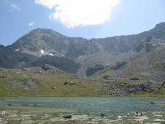 Lago Margheron e Mont Glacier