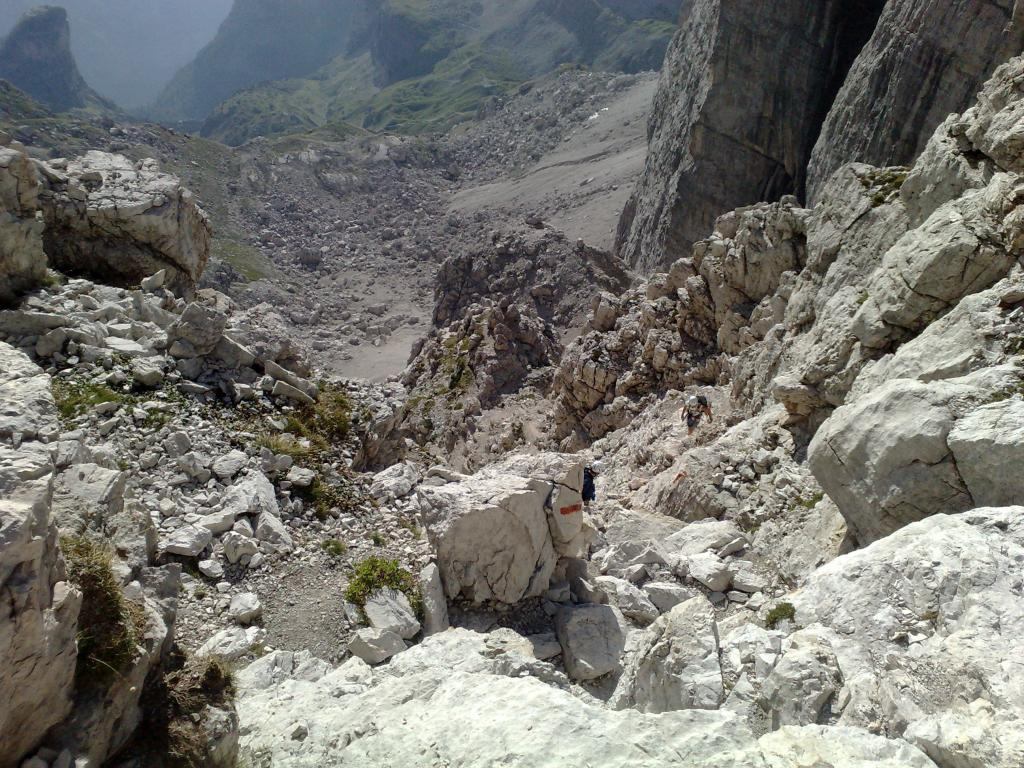 un po' sulle rocce...