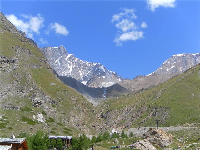 il Taschhorn e Alpubel visti da Taschalp