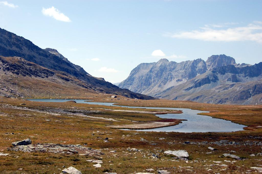 Longet (Col) e quota 2828 m da Chianale 2011-08-23