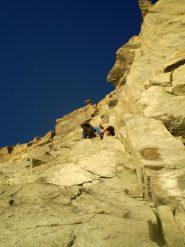 Due tiri su bella roccia