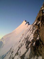 L'alba sulla lunga cresta