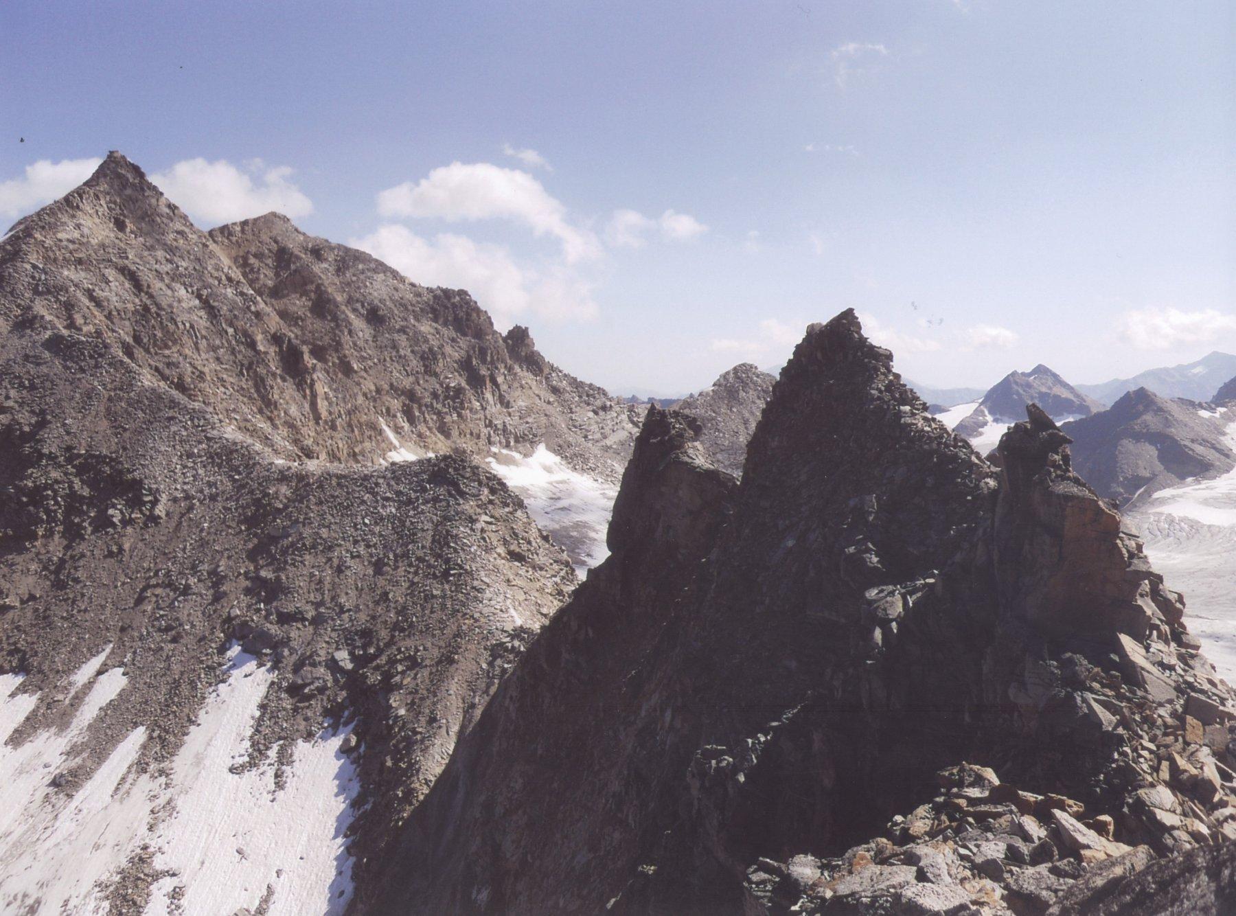cresta Angelo Grande - cima Vertana