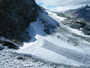 ghiacciaio della vaudaletta dal col leynir