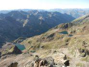 Laghi Malinvern e Laghi della Paur visti dalla cima